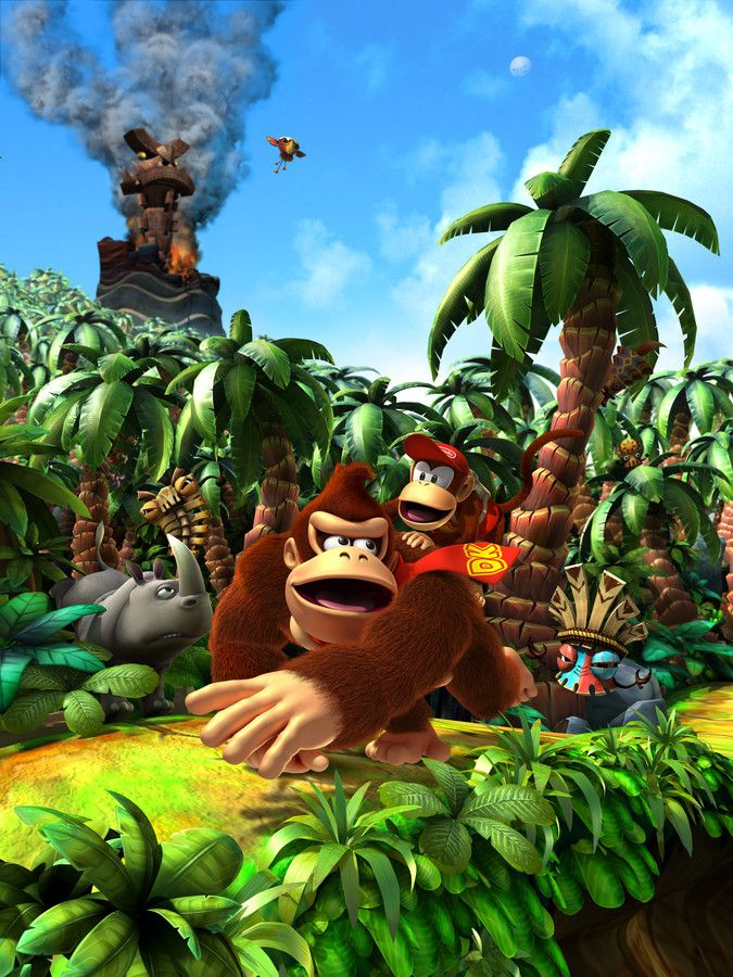 Donkey Kong Country Returns artwork: Key Art