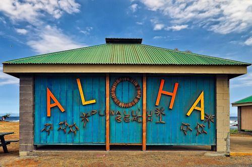 Hawaiian Beach Shack...