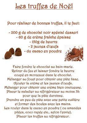 La maternelle de Laurène: Les truffes de Noël