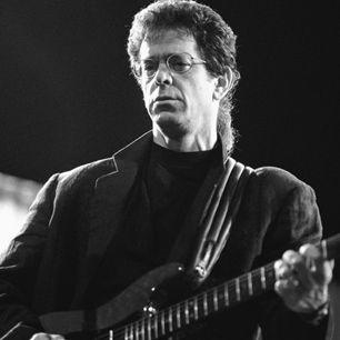 Lou Reed performs in Amsterdam, Netherlands.