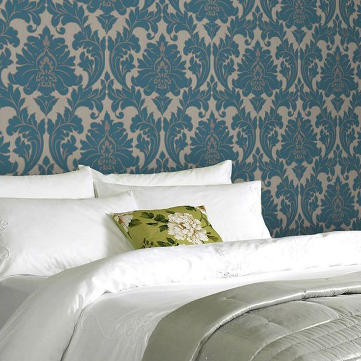 Graham & Brown Superfresco Easy Majestic Teal Wallpaper. #laylagrayce #wallpaper #new