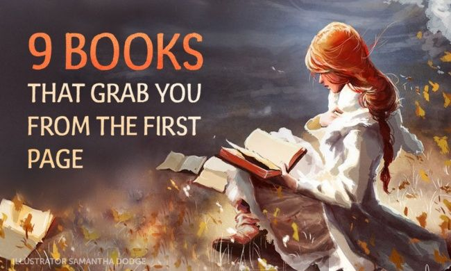 Nine brilliant books that will grab you from the first page