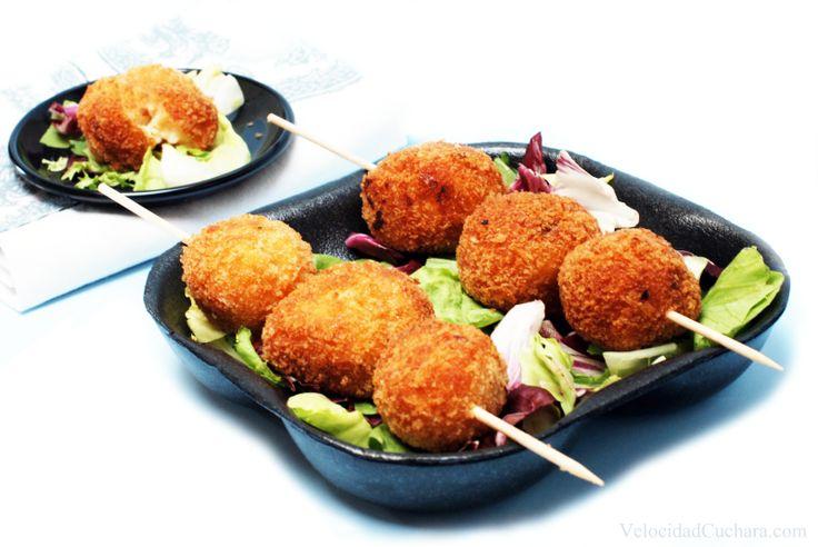 Croquetas de jamón y pollo - Thermomix