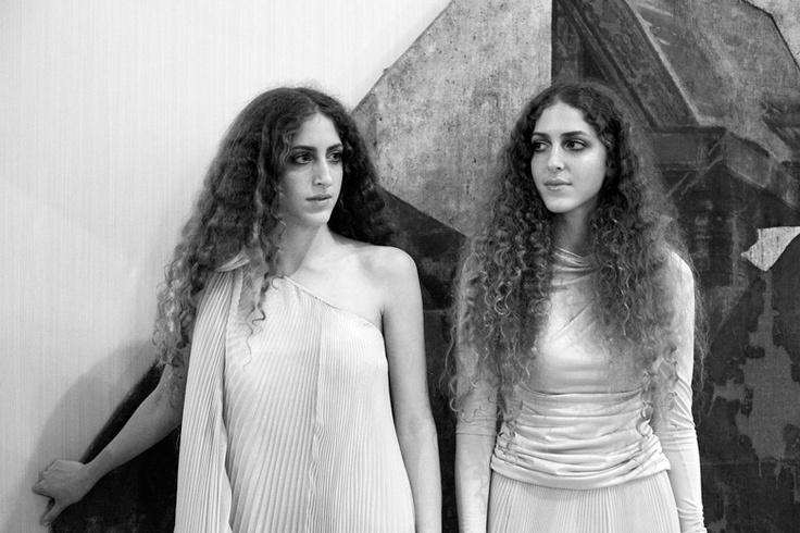 Grazia magazine - twins Sama + Haya