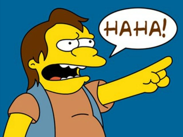 Pin by R0B V4NH33S on Tattoos in 2020 | Nelson muntz, Nelson simpsons, The  simpsons