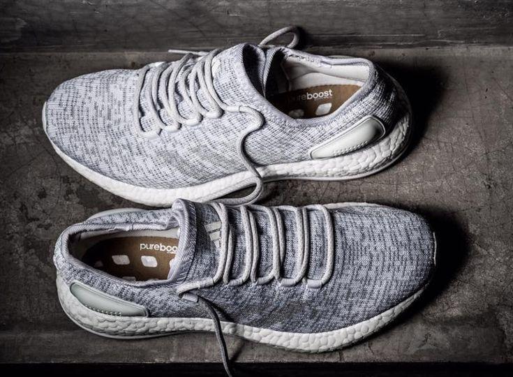 Adidas Pure Boost Primeknit Grey White #3Stripes #BRKicks