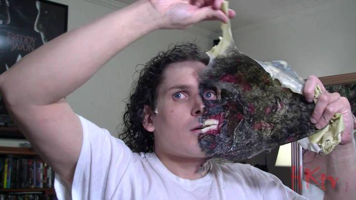 Two-Face Make-up HalloweenkingTV Uploaded on Nov 14, 2010