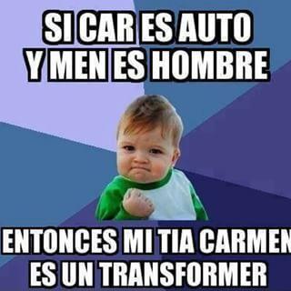 Un poco de humor! CAR-MEN