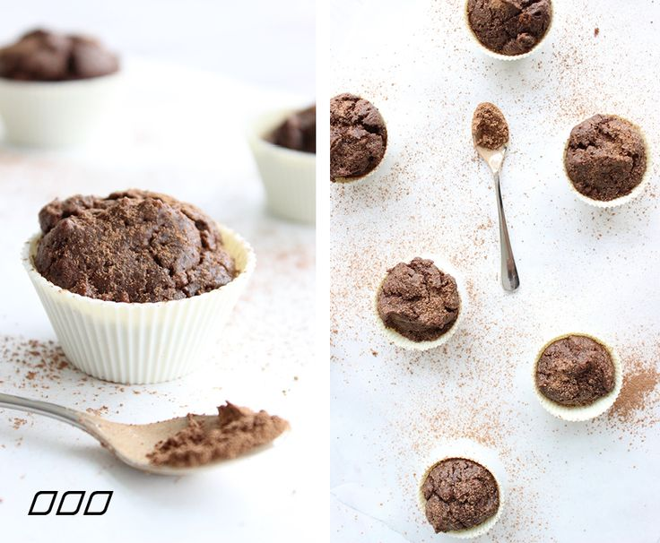 Clean Chocolate Protein Muffins - Move Nourish Believe