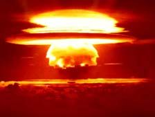 Bikini Atoll and nuclear testing in the Pacific.