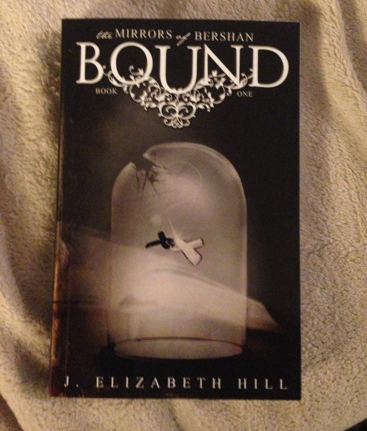 A physical copy of Bound! It's real (well, it's the proof, but still...)