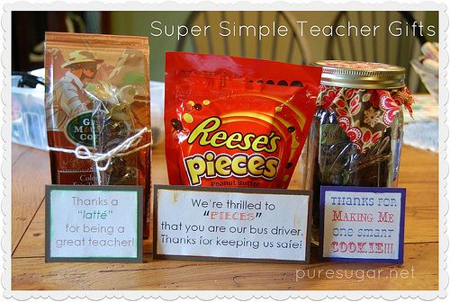 School Bus Driver Appreciation Gifts | Super Simple Teacher (and Bus Driver!) Gifts | Pure Sugar
