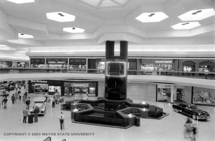 Lakeside Mall, Sterling Heights, Michigan - Opened in 1976
