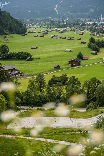 Charming and quaint Garmisch-Partenkirchen, Germany. Photo by Candice Elizabeth, via Flickr
