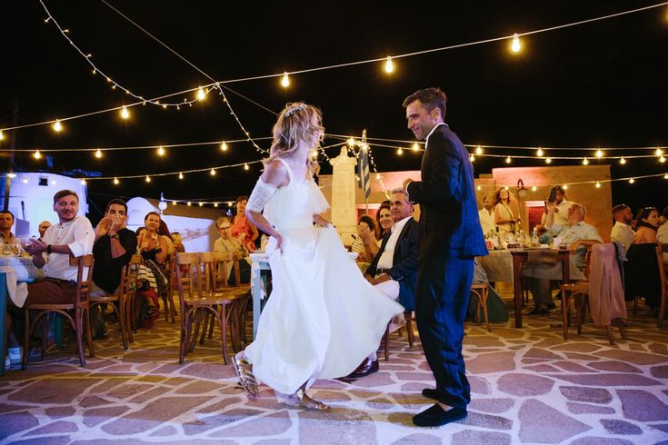 A wedding on Anafi Island | lafete, Greek dance, wedding couple, greece