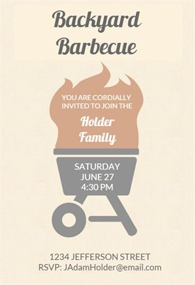 invitation for house party