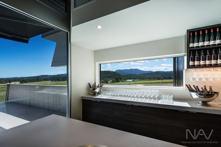 Inside Tasting Area.  Navurban™ Windsor. Designer: M G Design & Building Pty Ltd Photography: Matthew Mallet Photography Builder: Bright Alpine Builders Pty Ltd Joinery: Wilko Cabinets