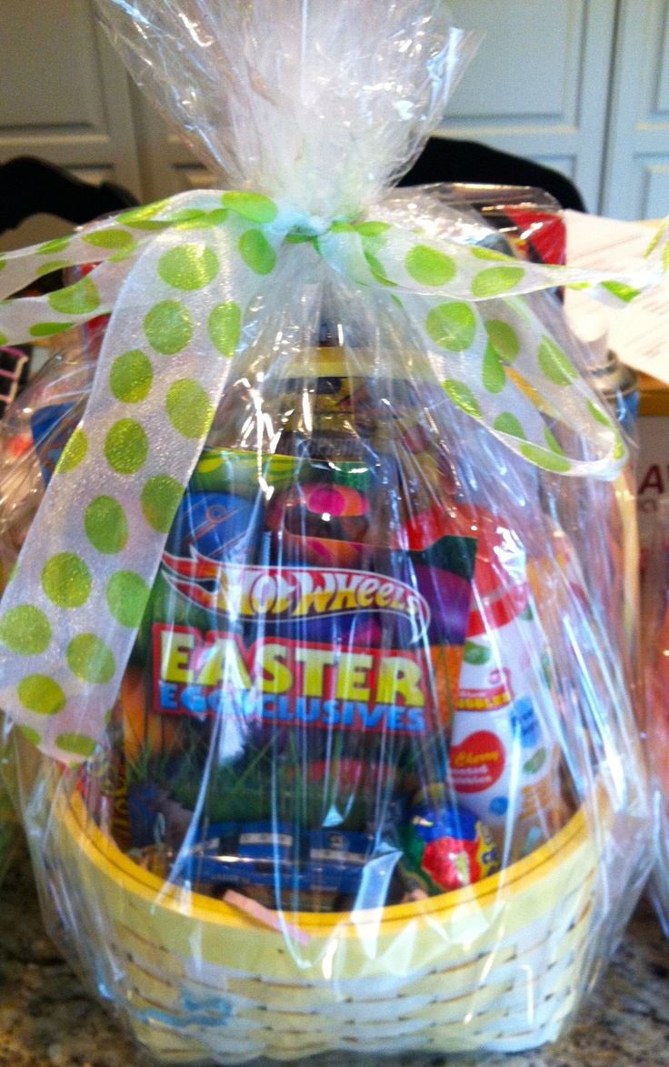24 best easter thoughts images on pinterest easter baskets easter basket 3 6 year old boy negle Image collections