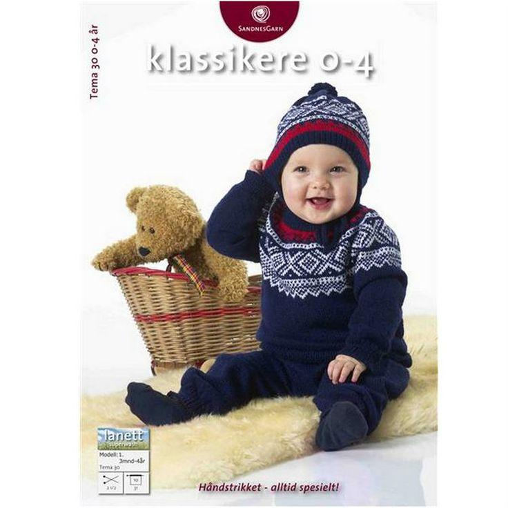 Tema 30 klassikere til baby fra Sandnes Garn - Strik klassikere til baby fra Sandnes Garn