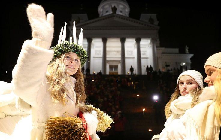 Santa Lucia's Day in Finland