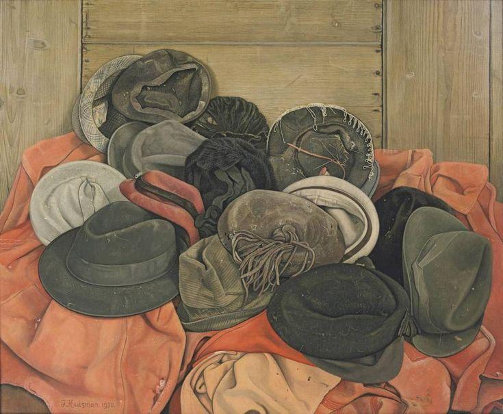 """Jopie Huisman werkt drie maanden aan zijn """"Hoeden"""" (1978). Beeld Jopie Huisman Museum"""