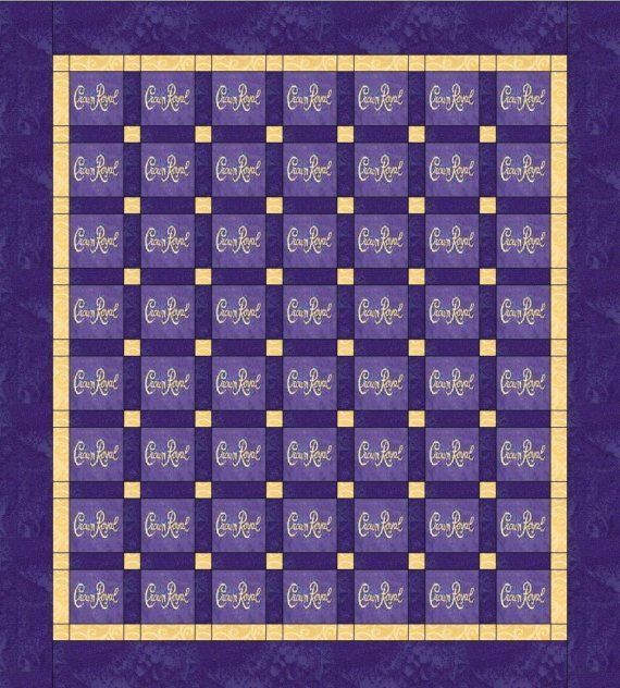 crown Royal quilt Royal quilts | il_570xN.89093722.jpg                                                                                                                                                     More