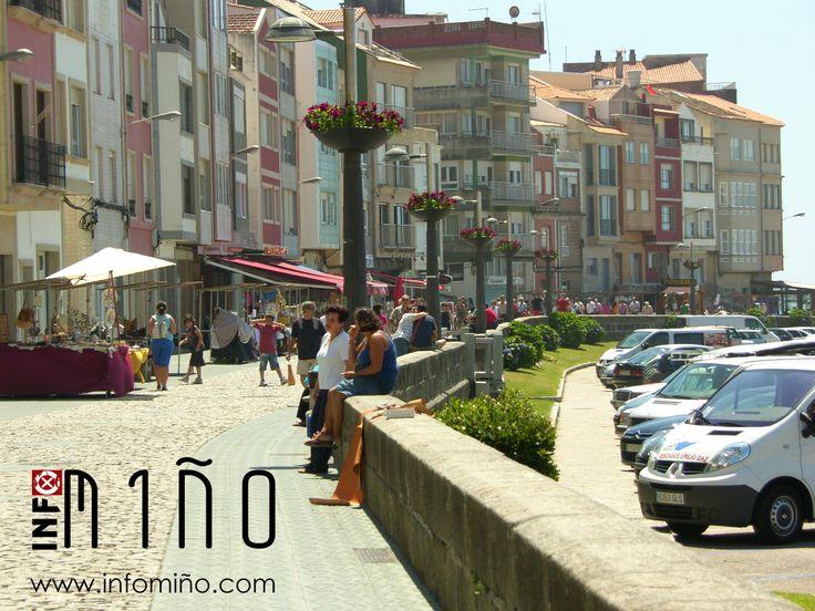 Paseo Marítimo en el Puerto de A Guarda, Pontevedra
