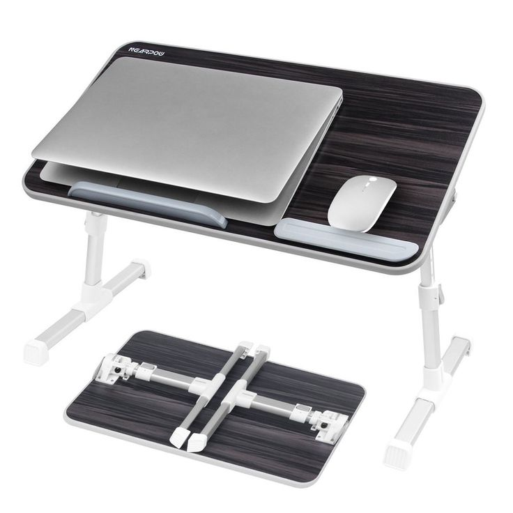 Portable Lap Desk Laptop Computer Tray Table Travel Airplane Vacation Travel Bag #LapDesk