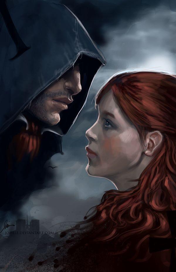 Arno Dorian and Elise Assassin's Creed: Unity