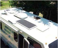 Solceller til Campingvogn og autocamper