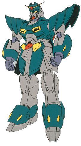 The GF13-073NPO Gundam Magnat is a mobile suit from Mobile Fighter G Gundam.