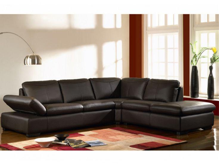 les 25 meilleures id es de la cat gorie canape cuir solde. Black Bedroom Furniture Sets. Home Design Ideas