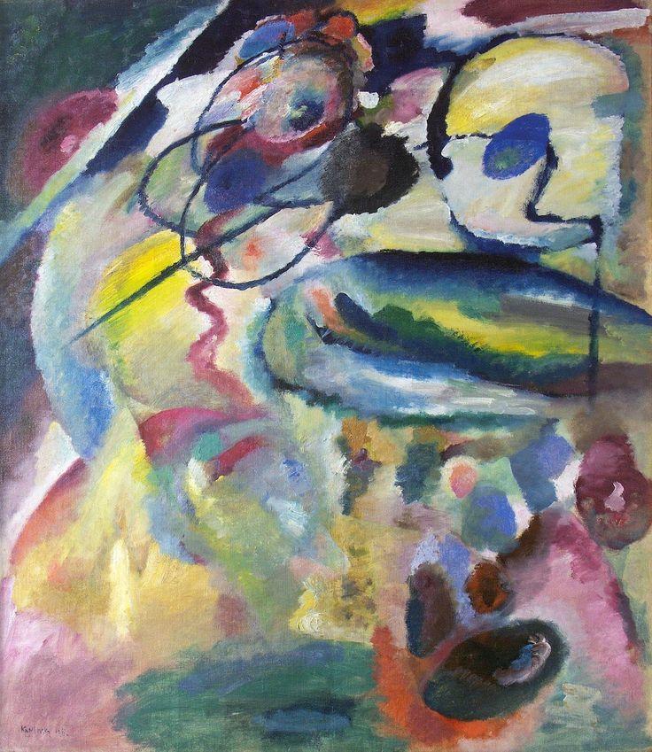 Image avec cercles, par Wassily Kandinsky