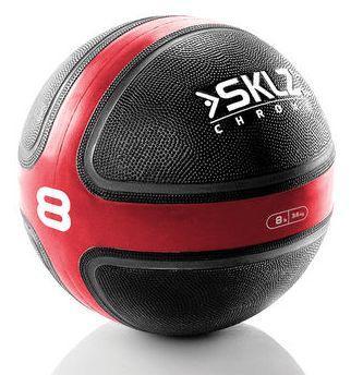 GEWICHTEN- Medicijnbal 3,5 kg: Rubberen medicijnbal met een uitstekende grip. Een medicijnbal heeft een diameter die ongeveer gelijk is aan de breedte van de schouders en worden vaak gebruikt bij fyshiotherapie, sportschool, maar ook steeds vaker bij thuisfitness. Een medicijnbal is de perfecte trainingsmethode voor het versterken van de spieren. De medicijnballen zijn verkrijgbaar in verschillende gewichten van 1 t/m 7 kg. Prijs per stuk: € 37,50 to € 79,95