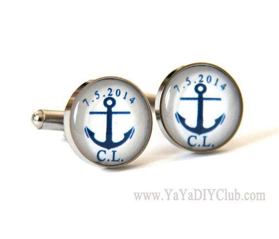 Nautische Hochzeitsgeschenk für den Bräutigam Anker von yayadiyclub