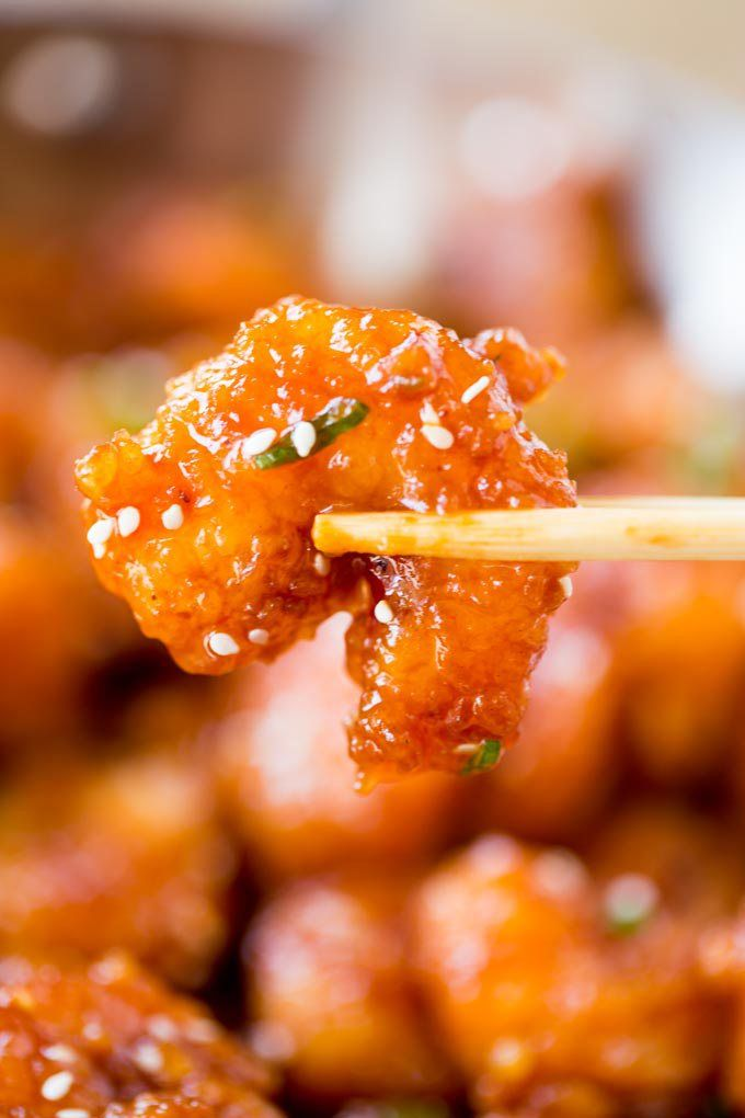 ThisHoney Orange Firecracker ShrimpfromDinner, Then Dessertis sweet, spicy, sticky, and crispy! It's such an easy recipe to make you'll throw your takeout menus away!