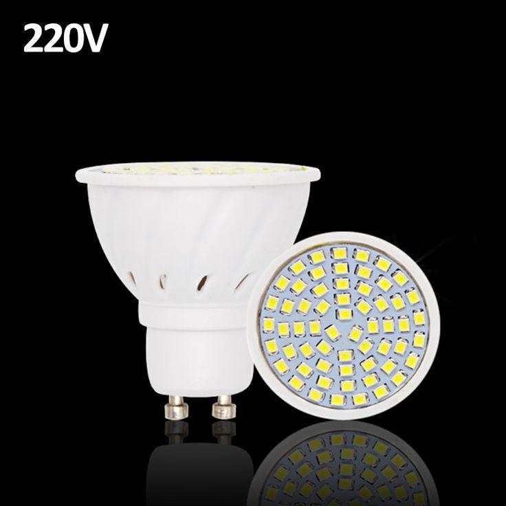 20 pcs Lampada DIPIMPIN Lampu GU10 220 V Luz De 2835 Ampul DIPIMPIN Bulb E27 Spot Lamparas Bombillas LED Light Bulbs Spotlight MR16 BEILAI