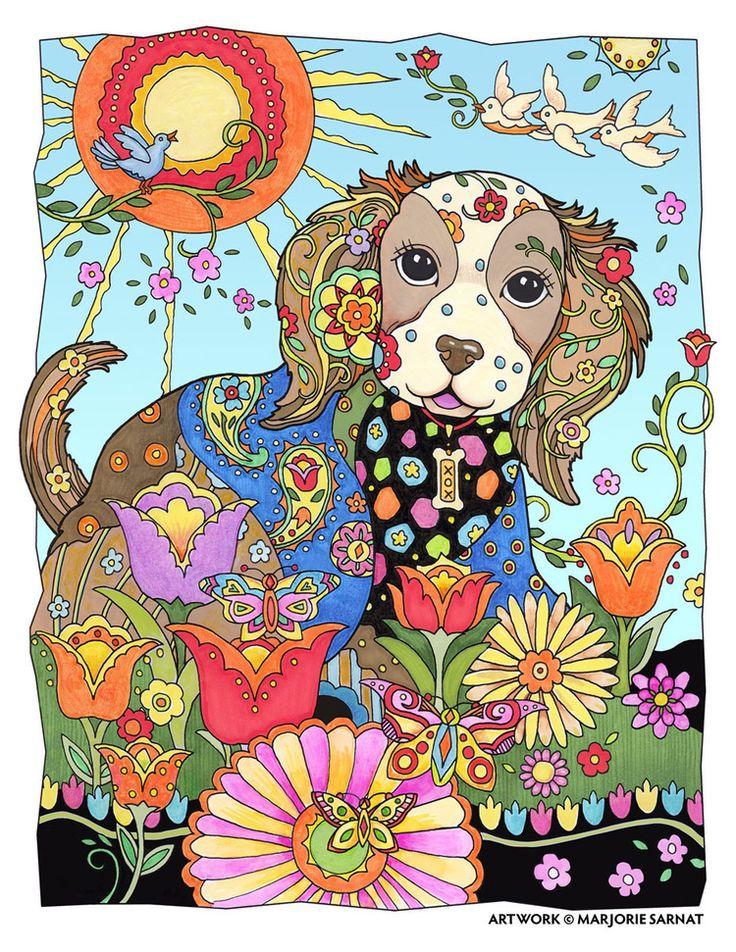 Meer Dan 1000 Afbeeldingen Over Marjorie Sarnat Coloring