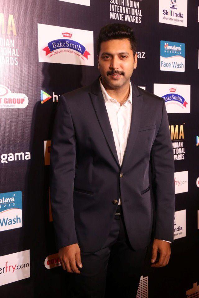 Jayam Ravi at  SIIMA 2016 Press Meet