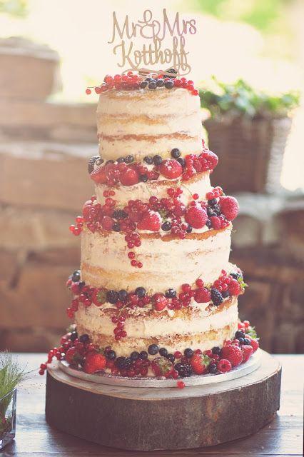 Feines Handwerk: eine Traumhochzeit und ein nackter Kuchen für Anna & Thomas   – Wedding Bliss