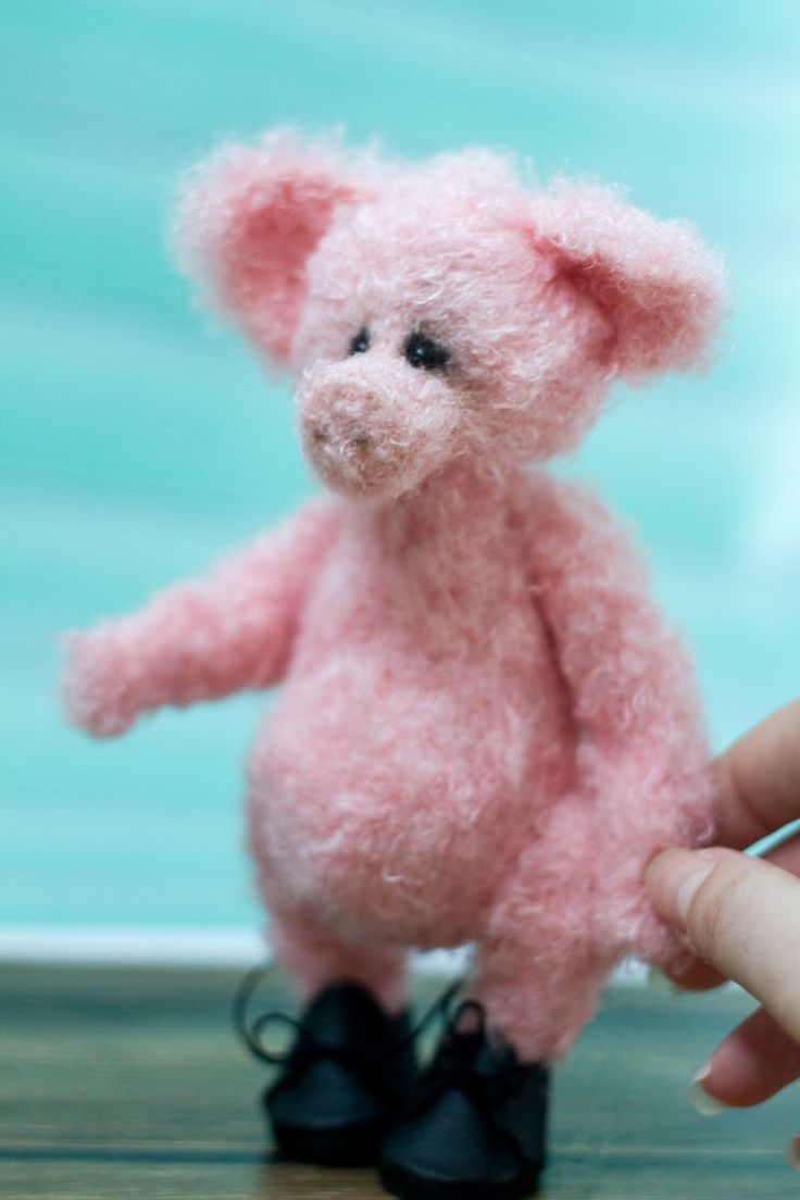 вязаный поросенок, amigurumi pig, cute pig, амигуруми игрушка
