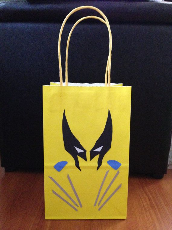 Wolverine Goodie Bags 12pc by xEverlastingMemories on Etsy, $18.00
