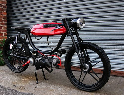 my whip will emerge this april looking like this #moped