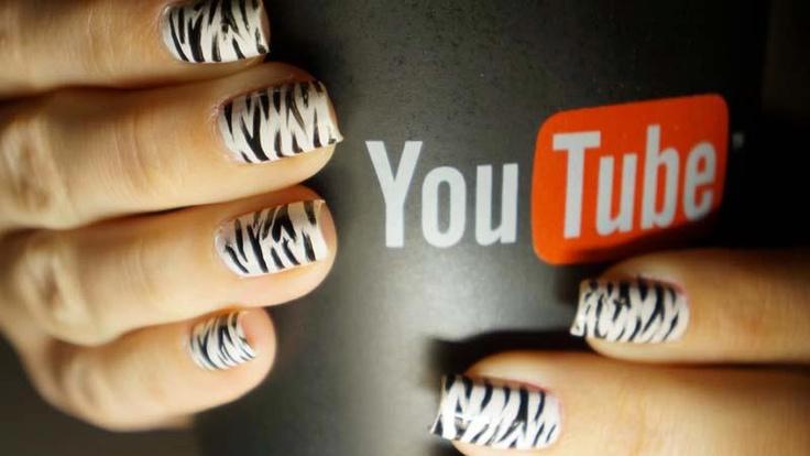 My zebra nails