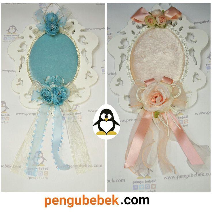 Barok desen ahşap bebek kapı süsleri. pengubebek.com ' da