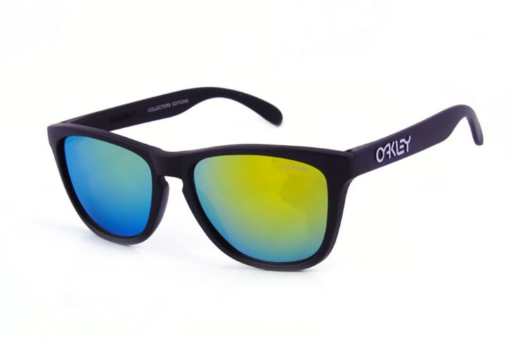 #Oakley #OAKLEY #Sunglasses Life Will Be Perfect With Oakley Frogskins Square Black BWU! Come On!