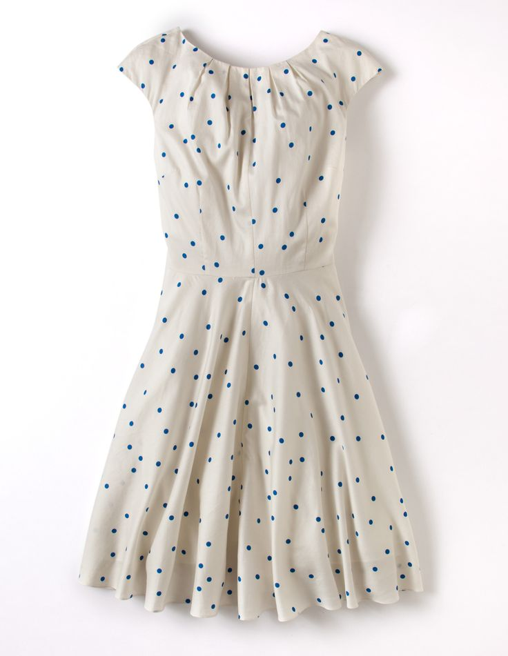 Flowershow Dress WH623 Petite Collection at Boden