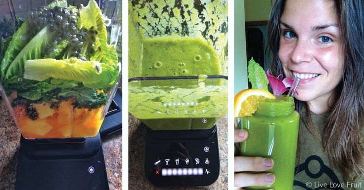 Try This Mango Pineapple Green Smoothie For Weight Loss and Lymphatic Stimulation | Live Love Fruit