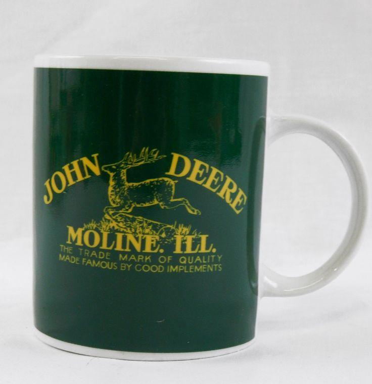 Gibson John Deere Moline, ILL. Coffee Mug