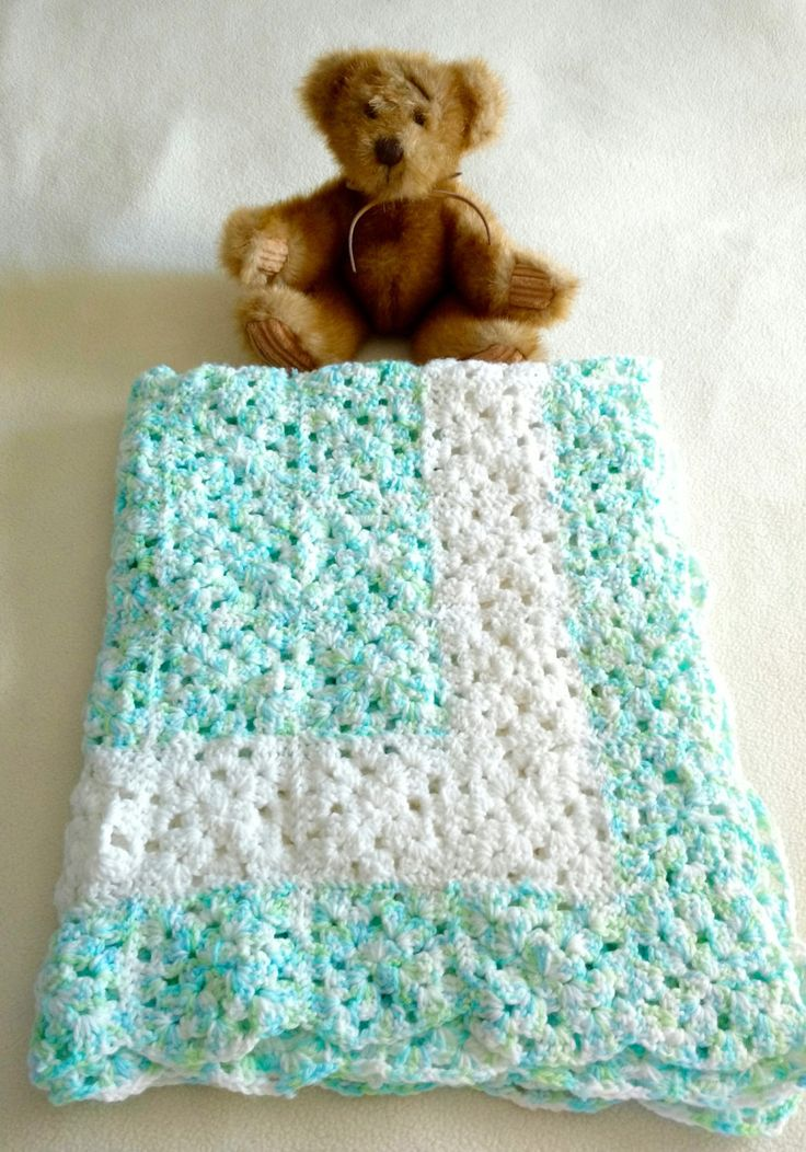 21 Best Handmade Baby Blankets Images On Pinterest Hand Crochet
